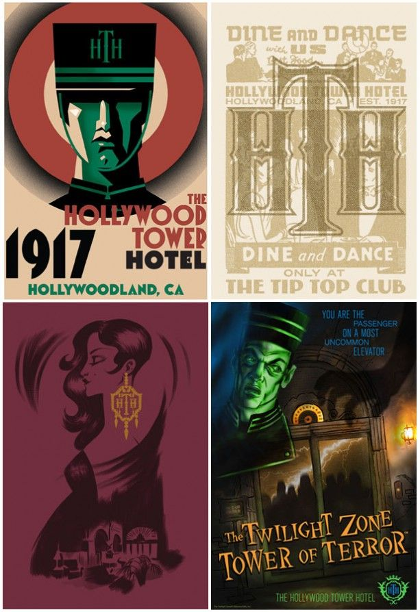 Merchandise Celebrates 20th Anniversary of Twilight Zone Tower of Terror at Walt Disney World Resort « Disney Parks Blog