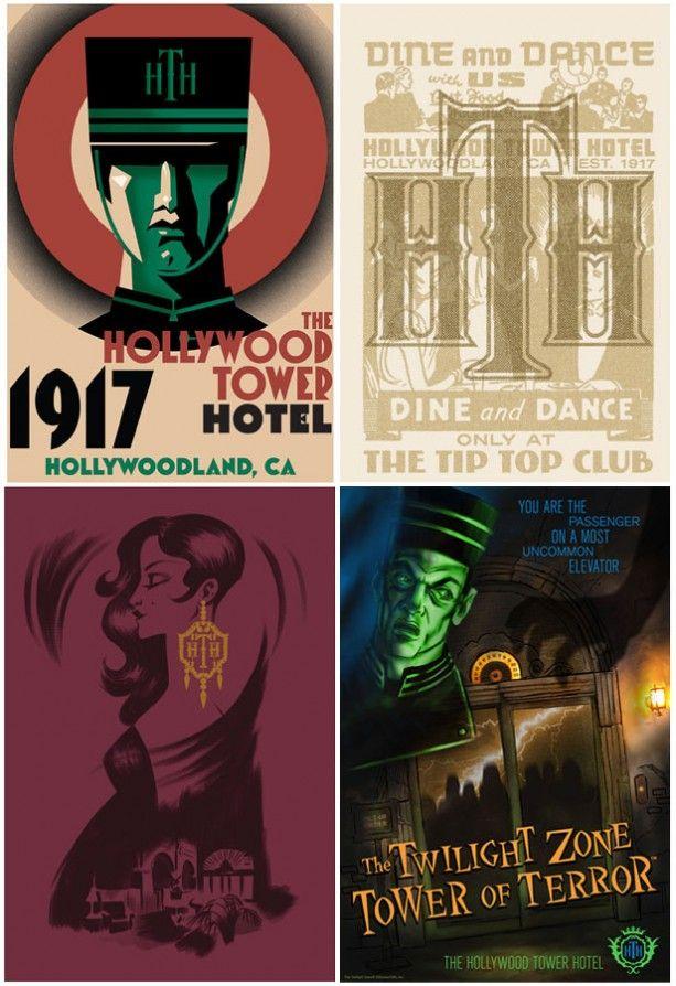 Merchandise Celebrates 20th Anniversary of Twilight Zone Tower of Terror at Walt Disney World Resort « Disney Parks Blog