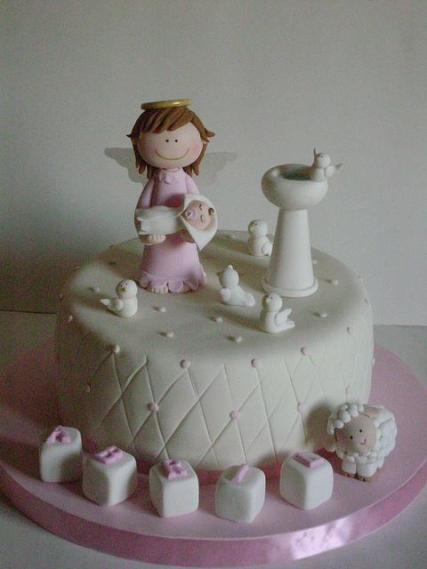 Bautismo   Baptism cake