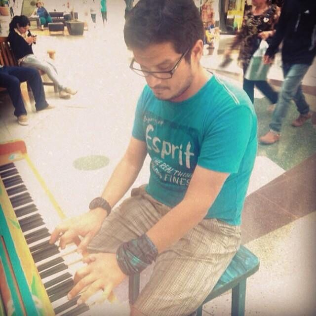 Piano man !!!!