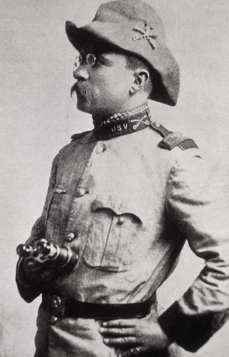 During the Spanish-American War, Roosevelt was lieutenant colonel of the Rough Rider Regiment, which he led on a charge at the battle of San Juan. He was one of the most conspicuous heroes of the war.