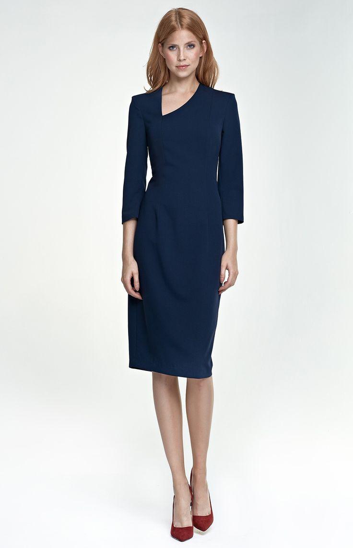 Petite robe noire manche 3 4