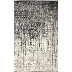 @Overstock.com - Deco Inspired Black/ Grey Rug (4' x 6') - Give your room a new focal point with this stylish deco-inspired rug in tones of black and gray. This polypropylene rug is power loomed for a consistent look and feel, and it has a cotton canvas backing that extends the rug's usable life span.  http://www.overstock.com/Home-Garden/Deco-Inspired-Black-Grey-Rug-4-x-6/6565596/product.html?CID=214117 $79.19