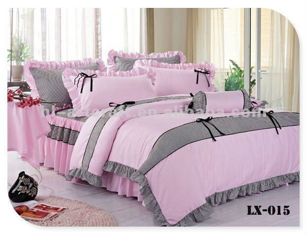 embroidered and ruffle bedding set - Recherche Google