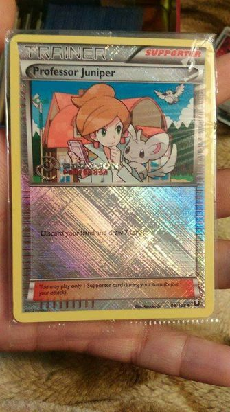 Pokemon Card Pack! Exclusive Release Professor Program Juniper Holo Rare!