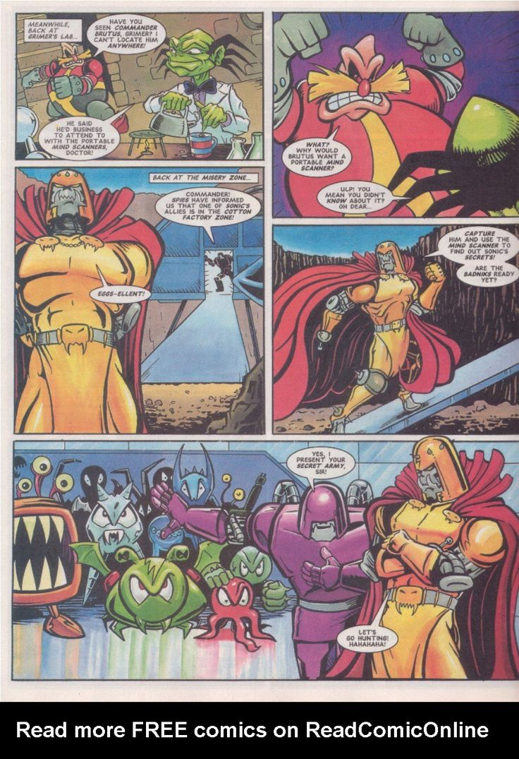 Sonic the Comic Issue 70 Read Sonic the Comic Issue 70