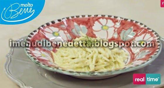 Trofie fresche al Pesto di Limone e Mandorle | la ricetta di Benedetta Parodi