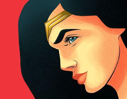 #WonderWoman www.behance.net/gallery/54144289/Wonder-Woman