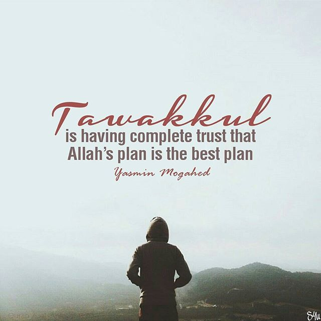 """..And Allah is The Best of Planners."" (Qur'an 3:54)…"