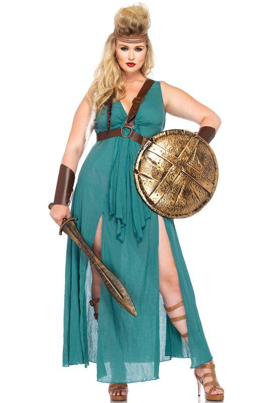 plus size warrior maiden costume womens plus size warrior costume plus size female warrior costume - Halloween Costume Plus Size Ideas