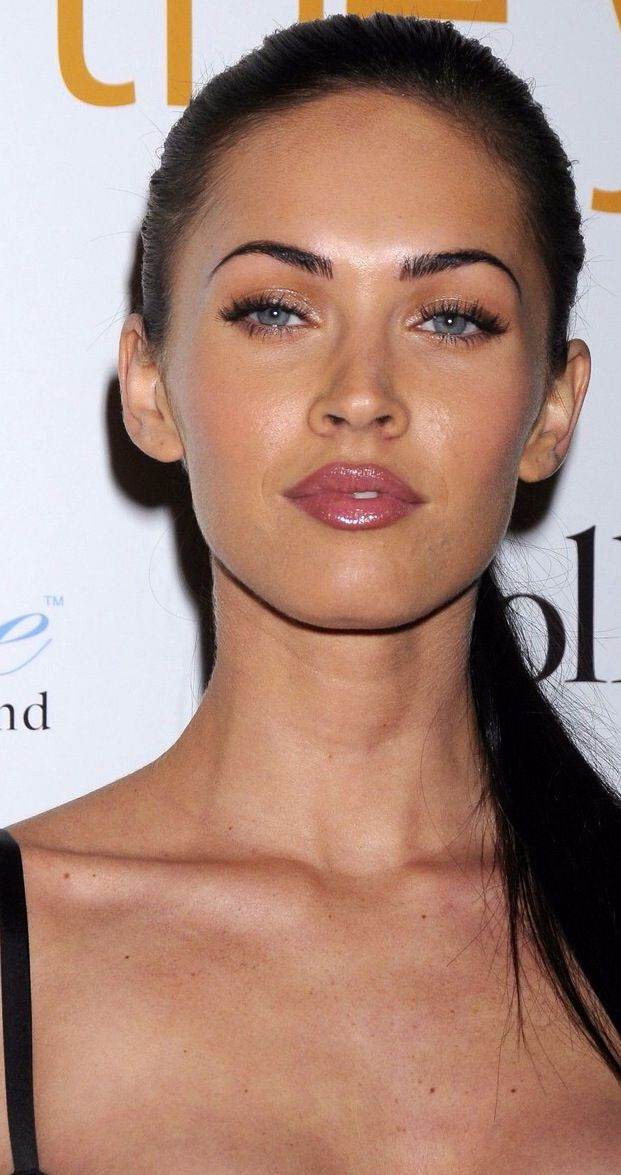 Megan Fox - I love this natural look with neutral lips.