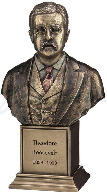 Theodore Roosevelt Bust Statue