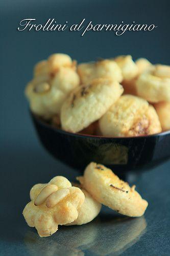 Frollini al parmigiano - (erborina in cucina)