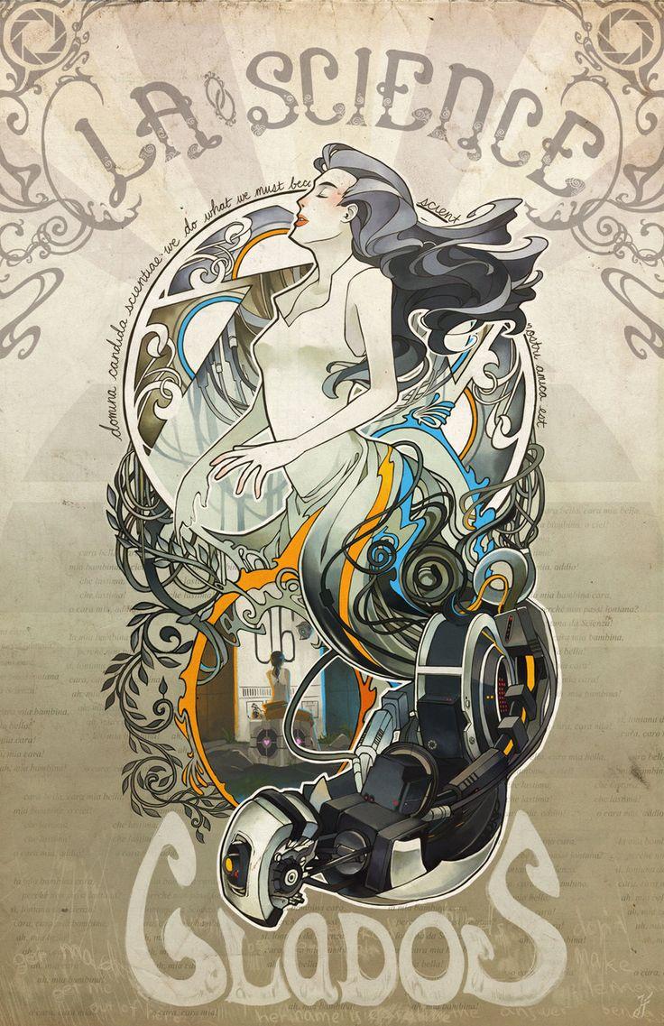Madame la Science Art Print by Xfreischutz