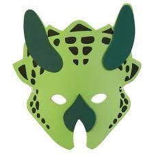 Resultado de imagen de dinosaur mask