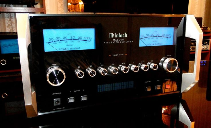 McINTOSH LABS MA-8000 Integrated Amplifier