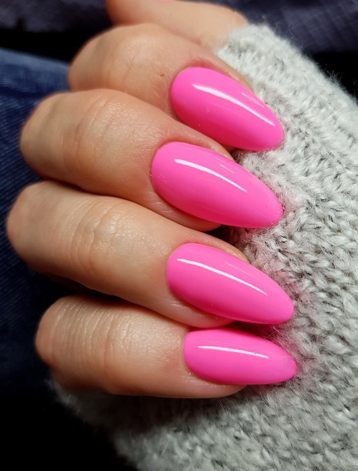 The 25+ best Bright pink nails ideas on Pinterest | Hot ...