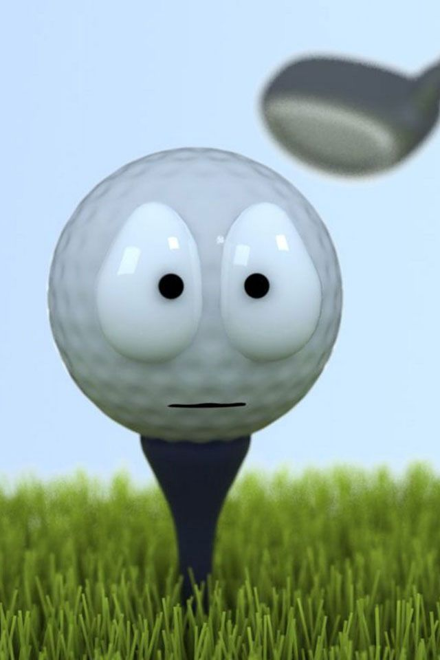 This golf ball knows you have been practicing with your Game-inglove over the winter and is very very afraid! www.game-inglove.com #gameinglove Game-inglove