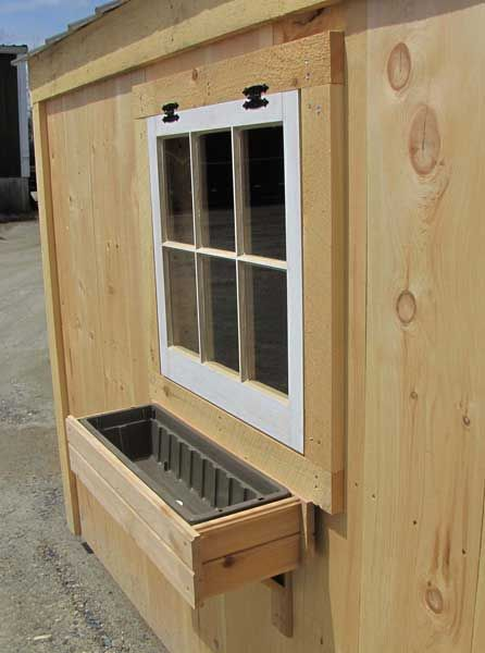 Our 2' long Cedar Flower Box is a handmade planter and comes with a sturdy plastic liner with a drain hole in the bottom. These wooden window boxes can be stained or painted, but with time and exposure will age into an authentic and rustic silver-gray. Includes flower box supports. Overall dimensions 27″W x 5.75″H 9.5″D Shipping Weight: 4lbs 9.5oz $48. http://jamaicacottageshop.com/shop/cedar-flower-box-for-windows-and-railings/