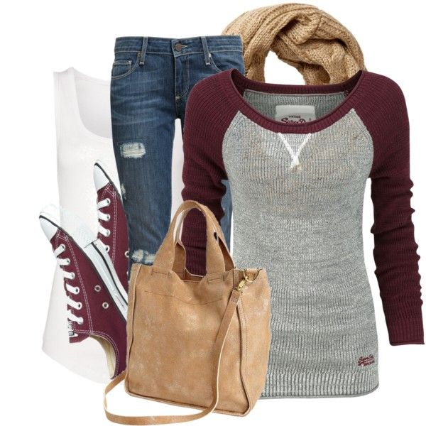 I don't care what type this is. I need it!  Hate the color bag and scarf though, nix those!Casual, love love love burgandy