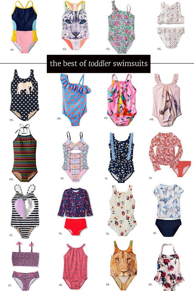 2016 || The Best of Toddler Girl Swimsuits!
