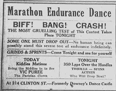 """Grems-Doolittle Library Collections Blog: """"Who Will Drop Next?"""": Schenectady's 1933 Dance Marathon"""