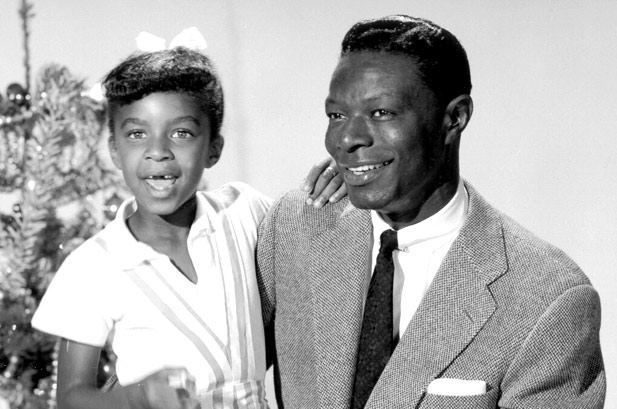 Nat King Cole & young Natalie Cole<3