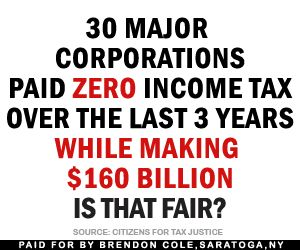 30 Major Corporations Paid Zero Income Tax.  Hmmm.....I think I see a way we could balance the budget....am I alone here?