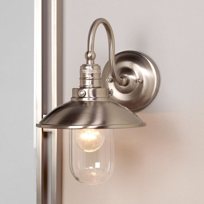 Schooner Bath Wall Sconce Bronze Finish Glass Shades And Oil Rubbed Bronze