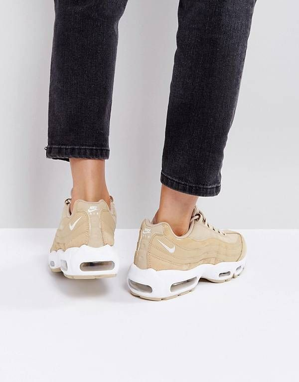 online store 2c1a8 2ed95 Nike Air Max 95 Trainers In Mushroom