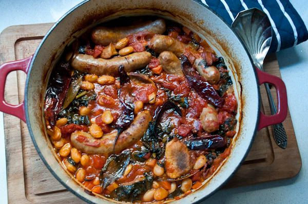 Cassoulet with toulouse pork sausage french meals - Cuisine easy toulouse ...