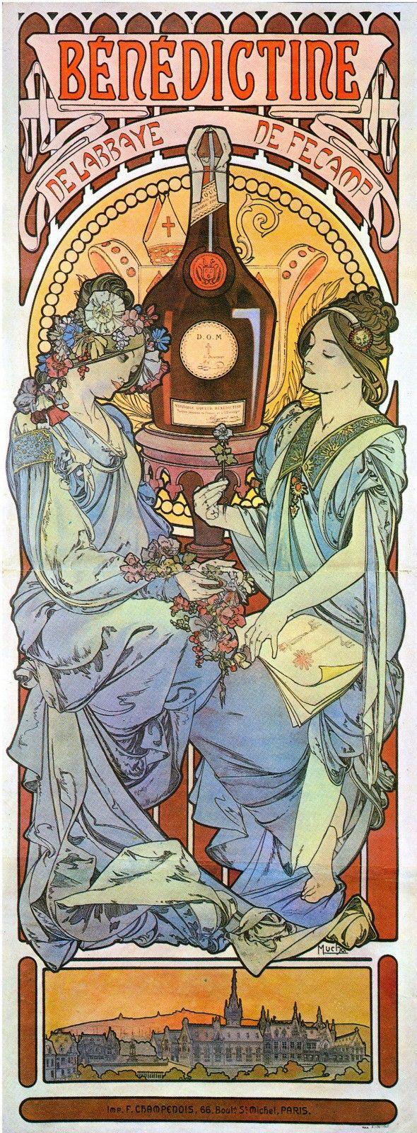Alfons Mucha - Benedictine & Nectar