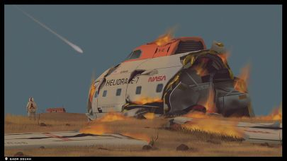 Don't miss the subtle and poetic art ofBadr Douah, a concept artist working for the entertainment industry.