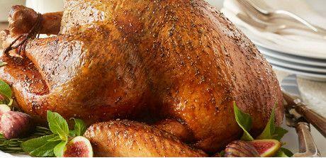 "Citrus–Rosemary Roasted Turkey"""