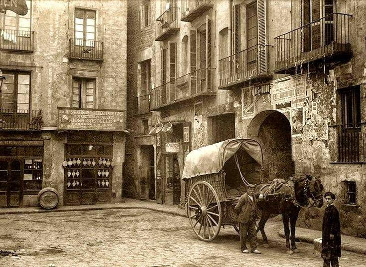 Plaça de L' Oli, 1900. La BARCELONA D'ABANS, D'AVUI I DE SEMPRE ...