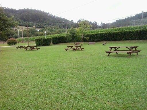 Área recreativa dos Barreiros.