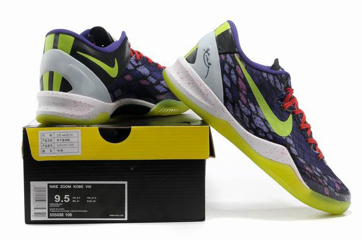 Snake Purple Volt Inc Action Red 555035 105 Cheap Kobe Bryant Shoes