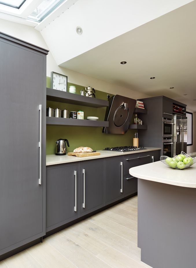 59 best images about our linear kitchens on pinterest for Linear kitchen design