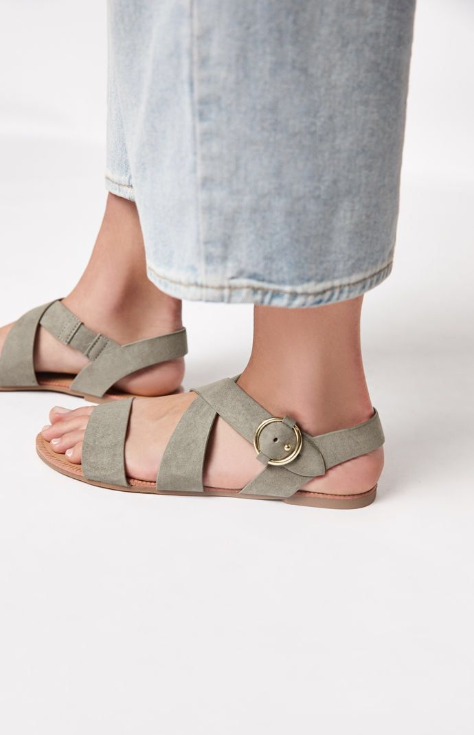 c84546b84ee1 PacSun   Qupid-Archer Sandals Adidas Shoes Women