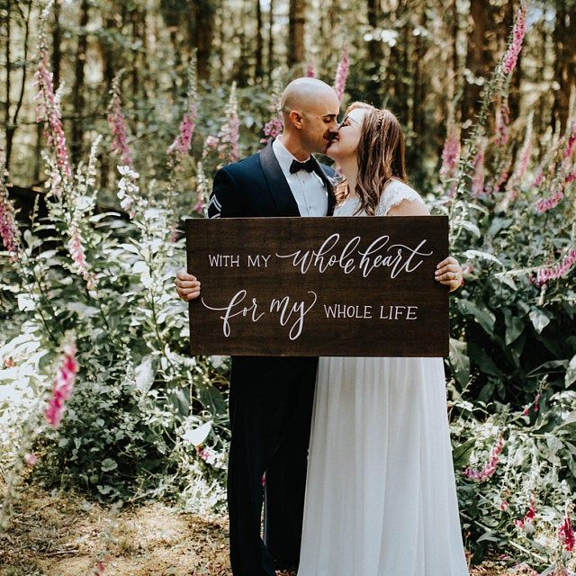 We Love Because He First Loved Us Sign Rustic Wedding Signs Etsy Wedding Signs Wedding Welcome Signs Wooden Wedding Signs