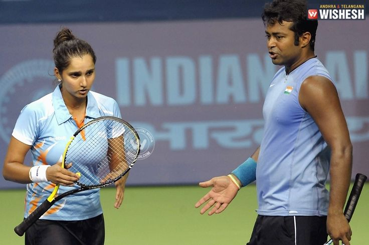 #LeanderPaes #SaniaMirza #USopen Leander Paes and Sania Mirza in US open finals.  Veteran tennis star Leander Paes and Sania Mirza are going to participate in the US Open mixed Doubles and women's doubles draw respectively, with Martina Hingis as the common partner.