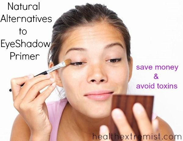 2 Easy DIY EyeShadow Primer Natural Alternatives