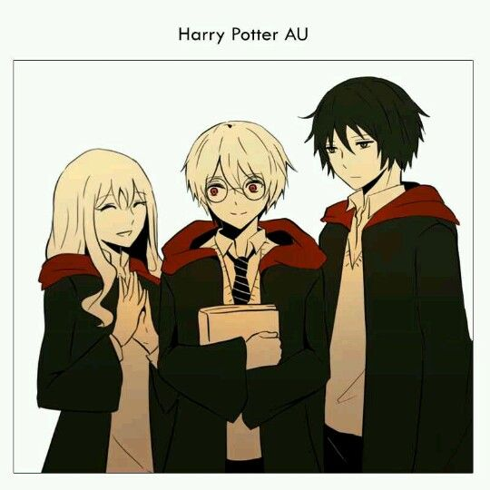 Aegis Orta Webtoon x Harry Potter crossover