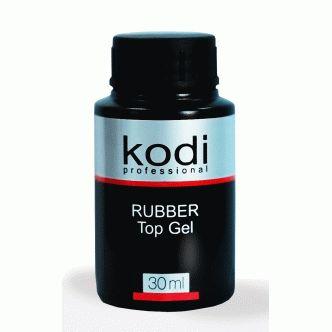 Rubber Top (каучуковое верхнее покрытие для гель - лака ) 30 мл.: купить в интернет магазине Vikki-art.ru