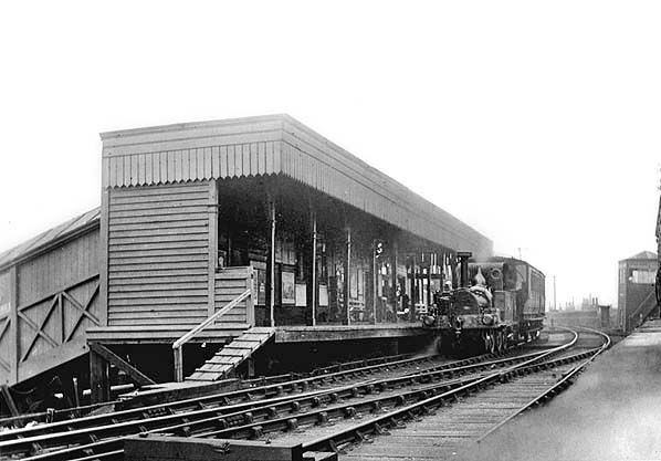 North Greenwich. 2 Millwall Millwall Docks Railway Station Photo