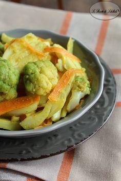 Insalata di broccoli e finocchi speziati