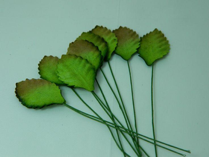 Green  leaves 30mm (20pk)