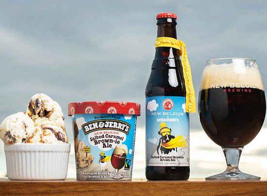 Ben & Jerry moeten beiden in België zijn geweest om deze fantastische smaak te ontdekken. De nieuwe Belgium Brown Ale ice cream is niet alleen een op zichzelf staande lekkernij, maar is speciaal uitgebracht om een wereldse combinatie te maken met de gezoute Caramel Brownie Brown Ale smaak.Je kan het ijs nu al kopen via deze link, dan steun je direct ook POW, een organisatie die strijd tegen de klimaatsverandering.