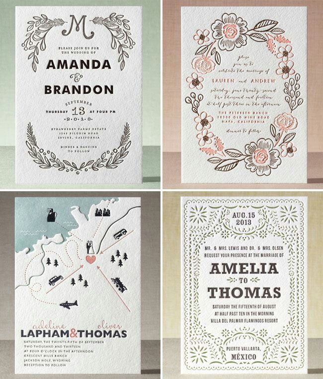 ● Minted ● Wedding Invitations ●