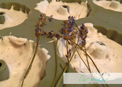 Šlehané levandulové mýdlo od Afrafy